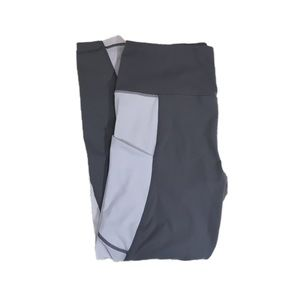 Active Life Gray Athletic Legging, Size L